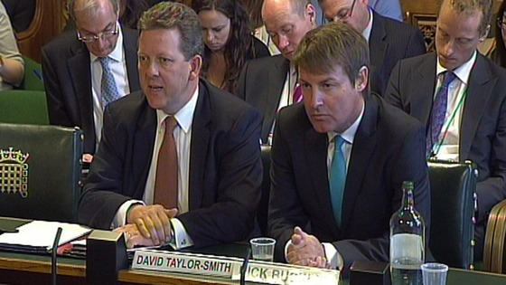 G4S director David Taylor-Smith (left) has quit, but Nick Buckles (r) has kept his job
