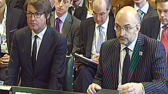 Ian Horseman Sewell (r) has resigned along with David Taylor-Smith Credit: PA