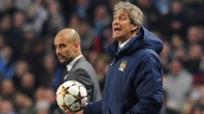 Manuel Pellegrini and Pep Guardiola