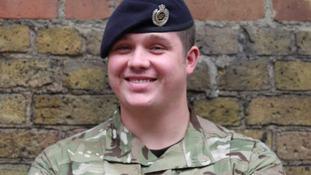 Sapper Matthew Garey has been honoured for bravery.