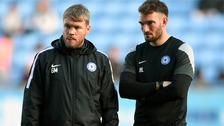 Grant McCann (left) is the new Peterborough United manager.