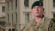 Platoon Serjeant Tony Bramham