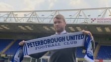 Grant McCann has been unveiled as the new manager of Posh.