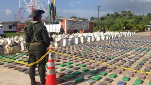 Colombian police seize eight tonnes of cocaine in 'biggest ever drugs raid'