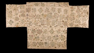 Altar cloth in Herefordshire church may have come from Queen Elizabeth I dress