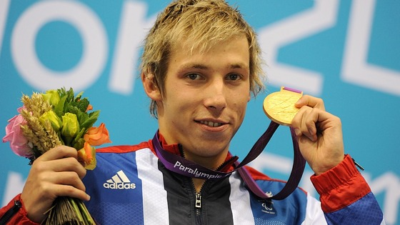 Jon Fox won gold at the London 2012 Paralympic Games.