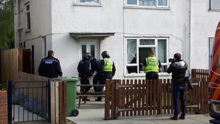 Three arrested in Grimsby dawn raid