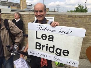 Lea Bridge Station reopens to kick start regeneration.