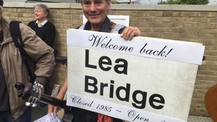 Lea Bridge Station reopens after 30 years amid carnival atmosphere to kick start regeneration project