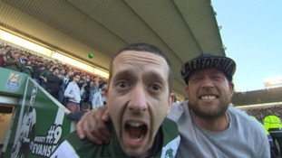 Watch the moment Plymouth Argyle fans realised they were off to Wembley