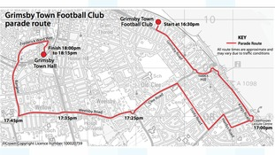 Mariners to celebrate return to Football League with open top bus tour