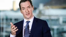 George Osborne has accused the Leave camp of using conspiracy theories