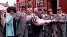 Barbara Windsor with fellow Eastenders cast members in 1999