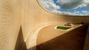 National Memorial Arboretum in Alrewas, Staffordshire