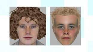 Police have released these images of the men they'd like to speak to