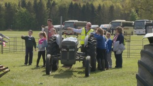 Primary pupils find out about farming