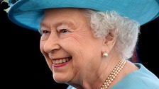 The Queen has joined wounded veterans