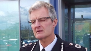 Suspended South Yorkshire chief constable David Crompton
