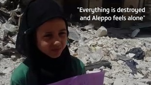 The Syrian war seen through the eyes of a child