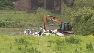 Police at Sharnbrook