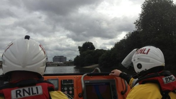 RNLI Lifeboat.