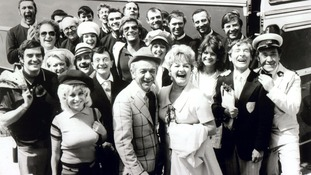 The Carry On cast pictured in June 1972.