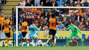 Championship play-off semi-final match report: Hull City 0-2 Derby County (Hull progress 3-2 on aggregate)