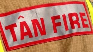 Tan fire