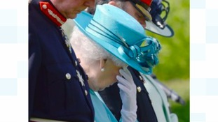 The Queen at the National Memorial Arboretum