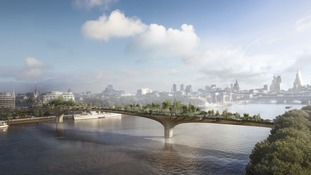 Sadiq Khan issues set of demands in return for support for a controversial garden bridge