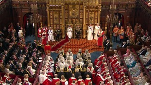 The Queen read this year's speech to a packed chamber.