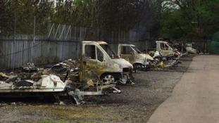 Cwmbran Caravan Fire