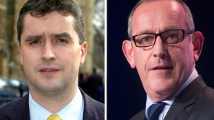 Angus MacNeil (L) and Stewart Hosie (R) face calls for an investigation over their accommodation expenses.