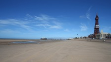 pic of Blackpool Beach