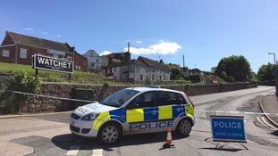 Suspect wartime bomb halts West Somerset Railway