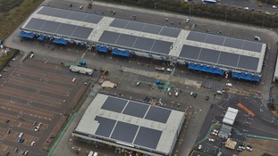Hounslow Council unveils vast installation of 6,000 solar panels