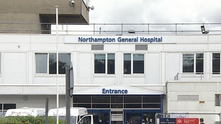 Northampton General has seen an increase in A&E patients.
