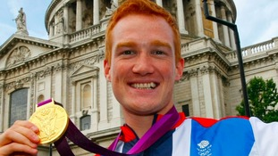 Greg Rutherford's golden homecoming