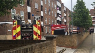 Man dies following 'explosion' at Stamford Hill flats