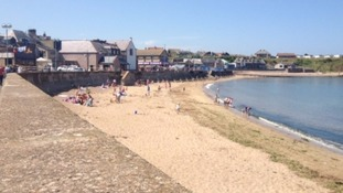 Eyemouth beach has been classed as 'poor'