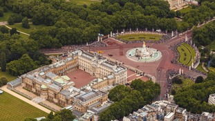 Intruder sparks security scare after spending seven minutes in the grounds of Buckingham Palace