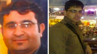 Ahmedin Sayed Khyel (left) & Imran Khan were found murdered in May 2011