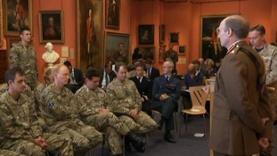 Soldiers honoured for bravery