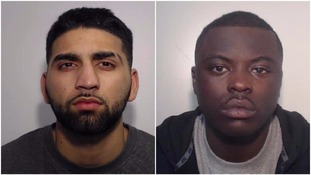 Danial Shahid (left) and Kadell Rivers (right) have been jailed in connection with the murder of Andre Marshall