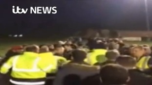 Video: CCTV released after football match assault
