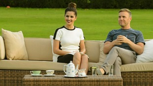 Cheryl Cole and Gary Barlow
