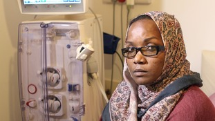 Rasha Abdalla had a transplant in 2004 but her body rejected the donor organ