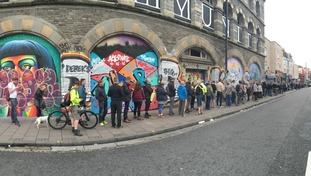 Massive Attack queues
