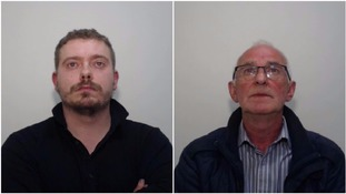 Eneo Zace (right) and Patrick Duffy (left) were jailed after pleading guilty to supplying cannabis