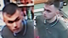 Blackpool Police are keen to speak to this man in connection with the attack